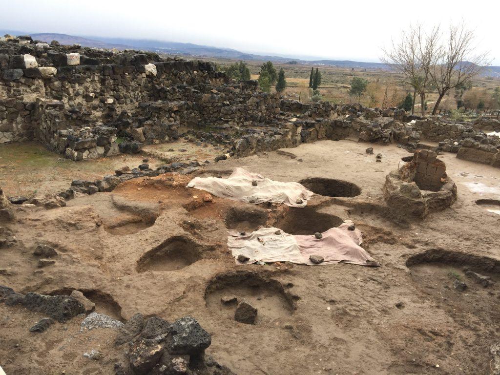 tatarlı höyük kazı alanı